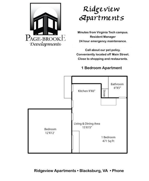 Ridgeview Apartments 1br Apartments Page Brooke